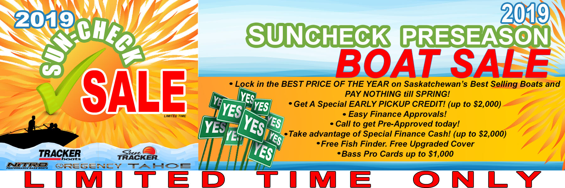 2019 SunCheck Sale Exclusive Auto Marine