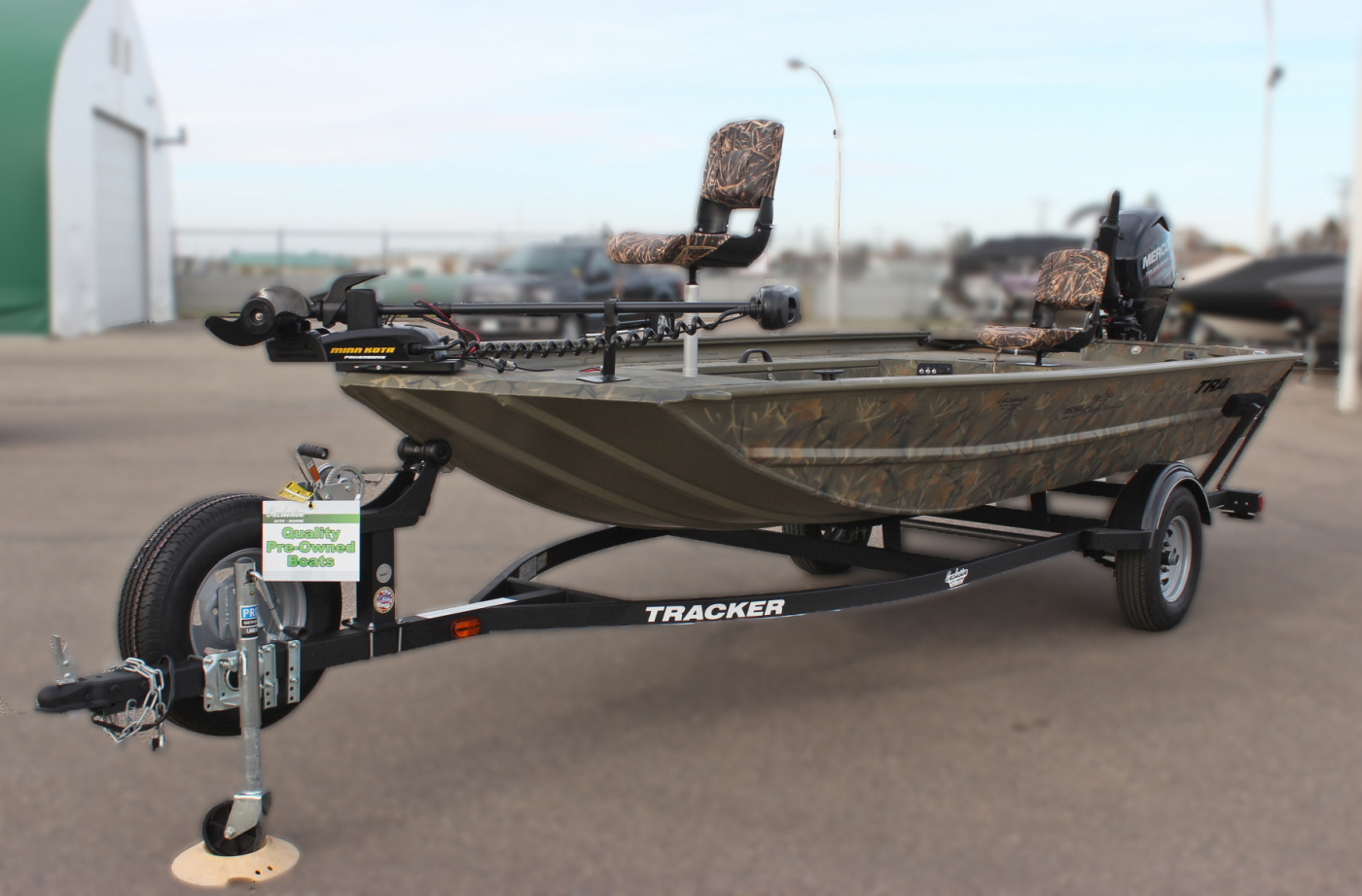 Tracker Grizzly 1654 Sportsman Mvx Blind Duck Edition