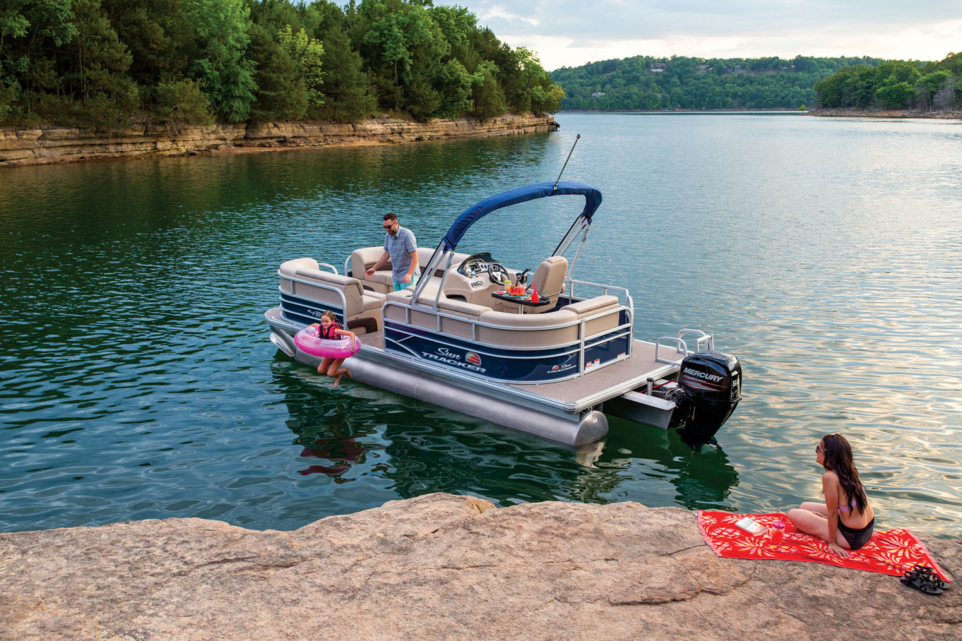 Party Barge 20 Dlx Exclusive Auto Marine