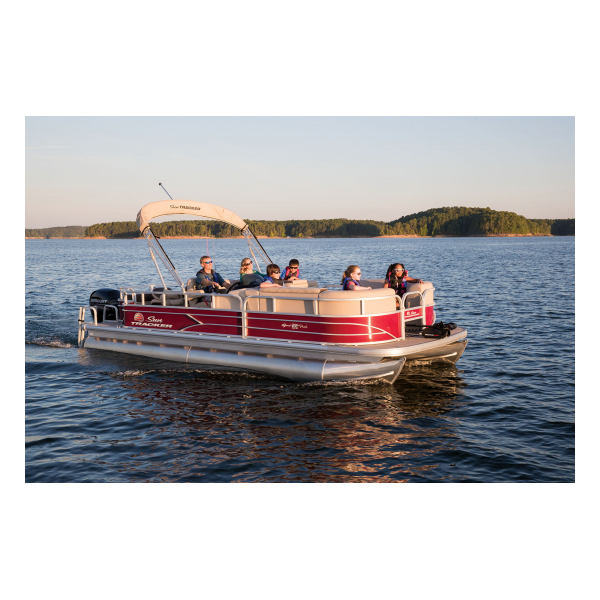 SunTracker SportFish 22 DLX Exclusive Auto Marine fishing boats pontoon boats