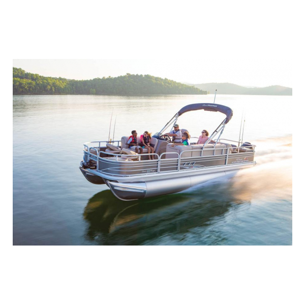 2020 SunTracker Fishin Barge 22 XP3 Exclusive Auto Marine pontoon boats