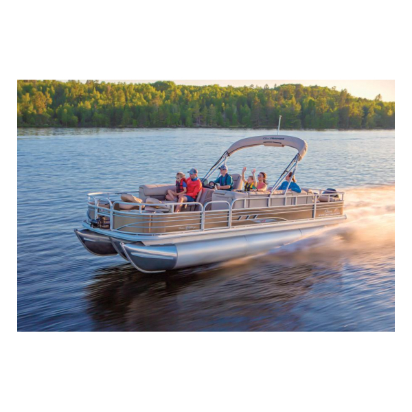2020 Fishin Barge 24 XP3 Exclusive Auto Marine pontoon boats