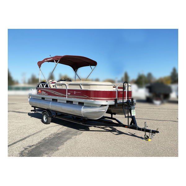 2013 Party Barge 22 DLX  Pre-owned boats Exclusive Auto Marine pontoon boats