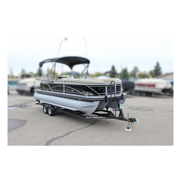 2017 Regency  220 DL3 Pre-owned Boats Exclusive Auto Marine pontoon boats fishing boats