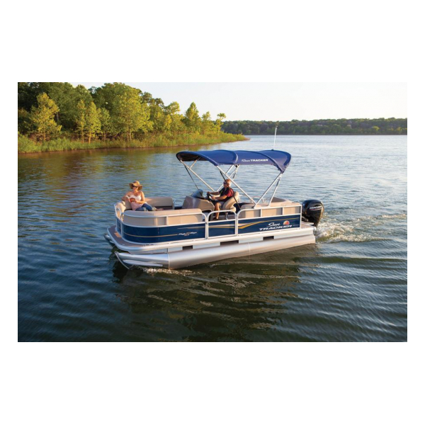 2020 SunTracker Party Barge 18 DLX Exclusive Auto Marine pontoon boats
