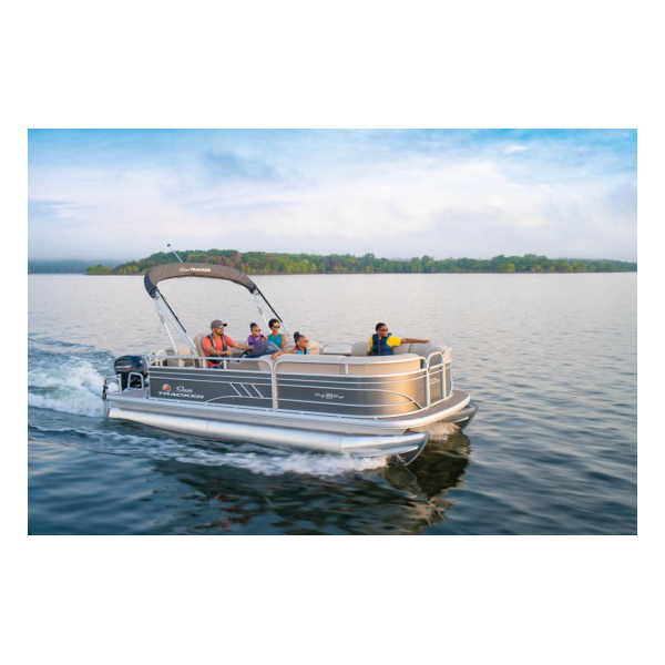 2020 SunTracker Party Barge 20 DLX Exclusive Auto Marine pontoon boats