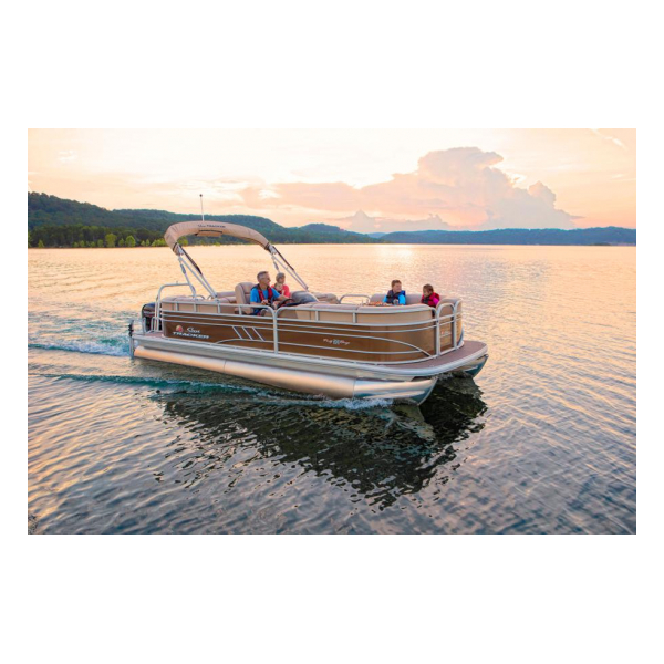 2020 Party Barge 22 DLX Exclusive Auto marine pontoon boats
