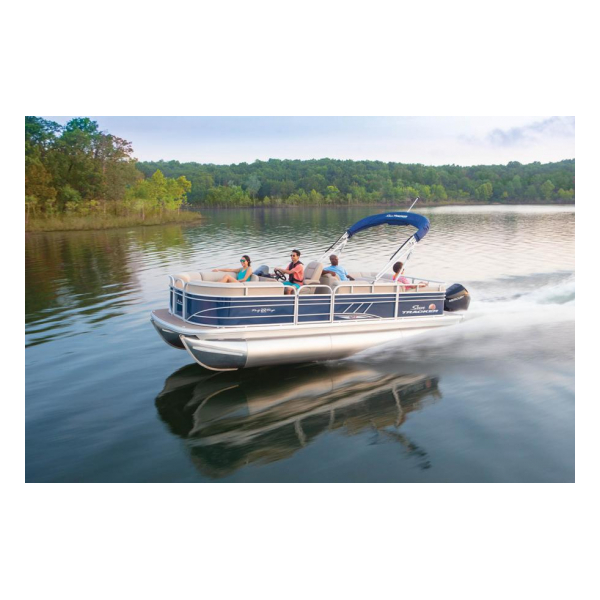 2020 SunTracker Party Barge 22 RF XP3 Exclusive Auto Marine pontoon boats