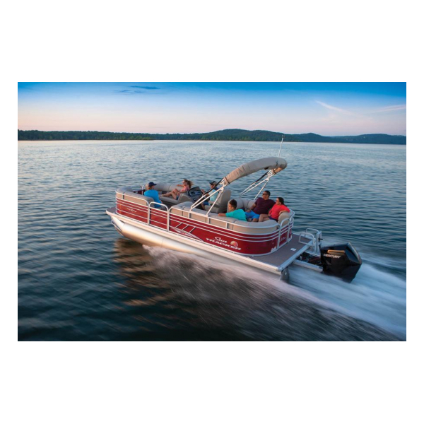 2020 Suntracker PARTY BARGE 22 XP3 Exclusive Auto Marine Pontoon boats