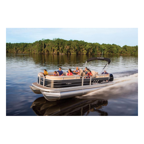 2020 SunTracker Party Barge 24 XP3 Exclusive Auto Marine pontoon boats