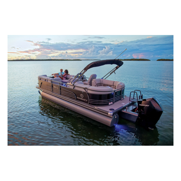 2019 Regency 230 LE3  Exclusive Auto Marine  luxury pontoon boat