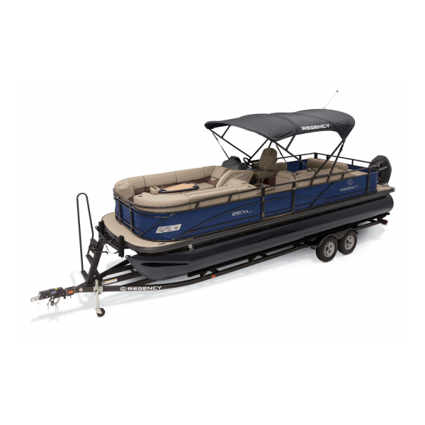 2020 Regency 250 DL3 Exclusive Auto Marine pontoon boats