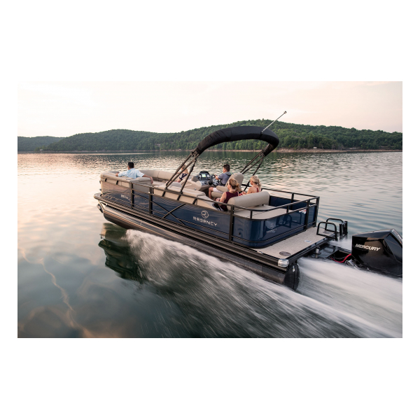 2019 Regency 250 DL3  Exclusive Auto Marine  luxury pontoon boat