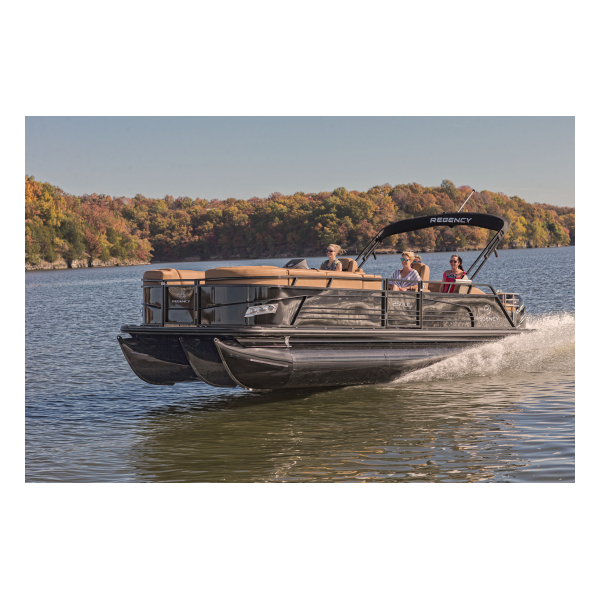 Regency 250 LE3 Sport  Exclusive Auto Marine  luxury pontoon boat