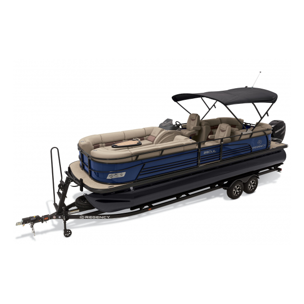 2020 Regency 250 LE3 Exclusive Auto Marine pontoon boats