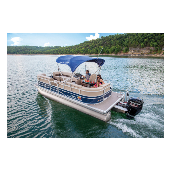 SunTracker Party Barge 20 DLX  Exclusive Auto Marine  pontoon boat