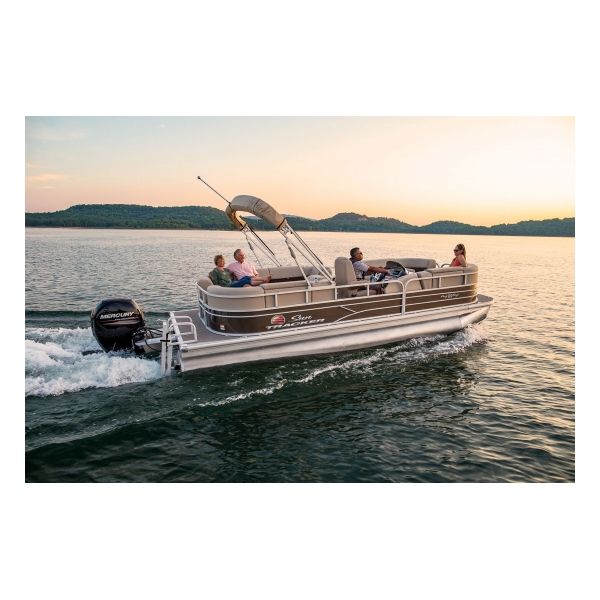 SunTracker Party Barge 22 DLX  Exclusive Auto Marine  pontoon boat