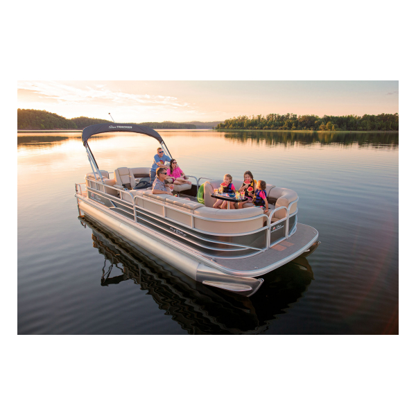 SunTracker Party Barge 24 DLX  Exclusive Auto Marine  pontoon boat