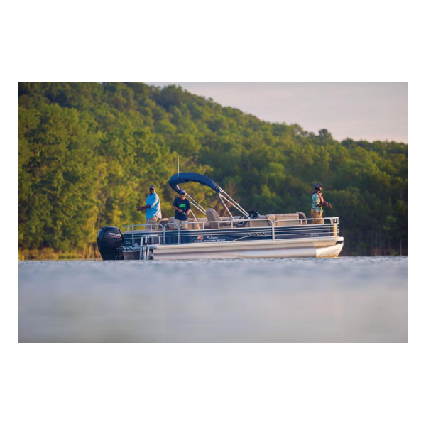 2020 Fishin Barge 22 DLX Exclusive Auto Marine pontoon boats