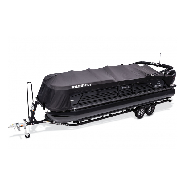 Suntracker Pontoon Boat cover Rail-Lok system