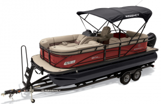 2019 Regency 210 DL3  Exclusive Auto Marine  luxury pontoon boat