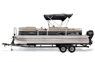 SunTracker Party Barge 22RF DLX  Exclusive Auto Marine  pontoon boat
