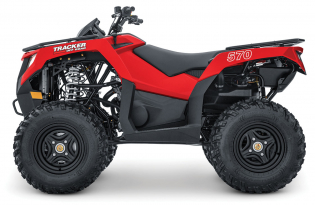 Tracker 570 2Wd to 4WD Exclusive Auto Marine Tracker Off Road ATV