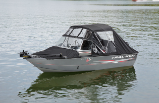 Full Enclosure for Tracker Boats  Exclusive Auto Marine